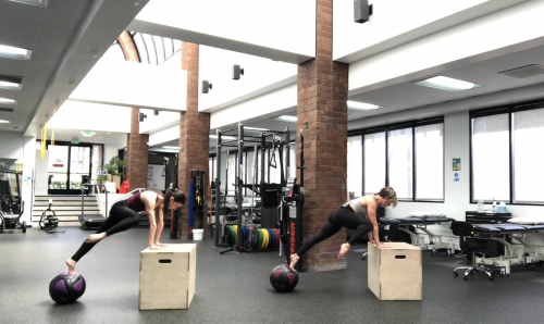 Watch SFT Med Ball Stamina Circuit